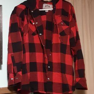 Legendary Whitetails Buffalo Plaid Shirt Jacket